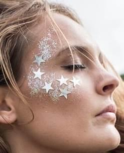 Face paint glitter white and stars.jpg