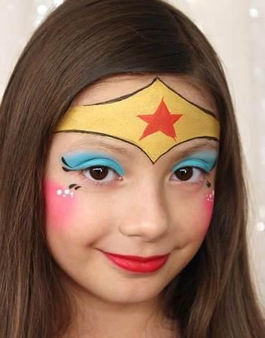 Face paint Wonder woman.jpg