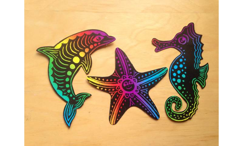 Sealife scratch art.JPG