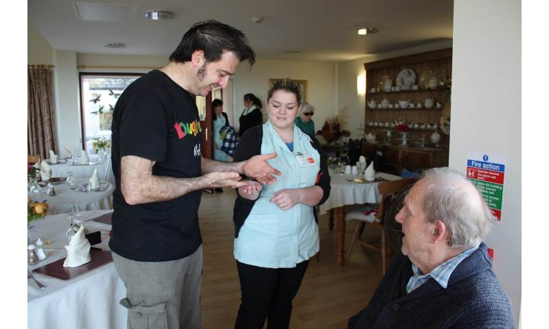 Bugfest in care homes