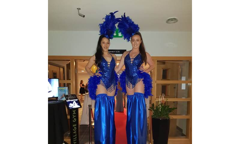 Blue Showgirls