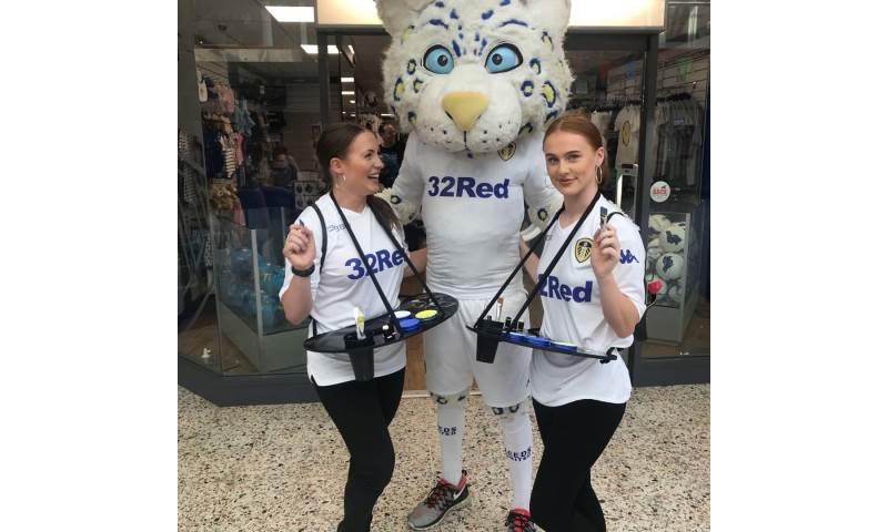 Leeds United Facepainter