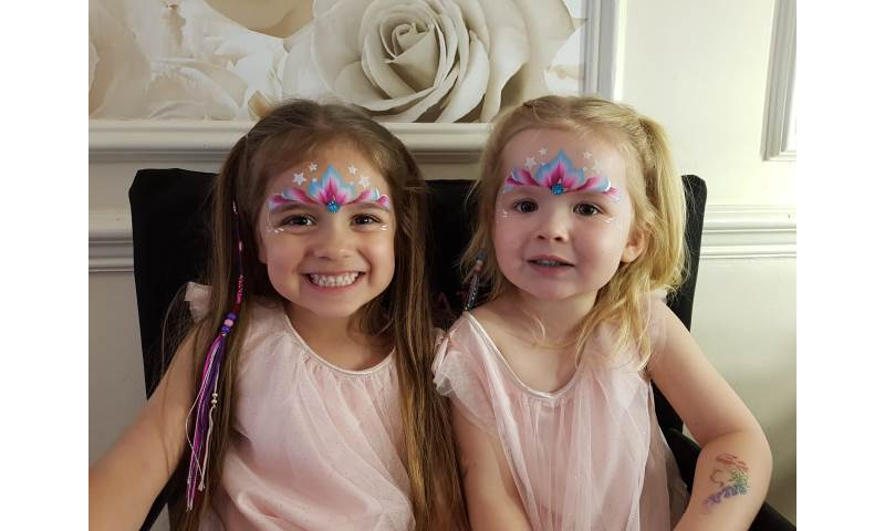 Baby Shower facepainting