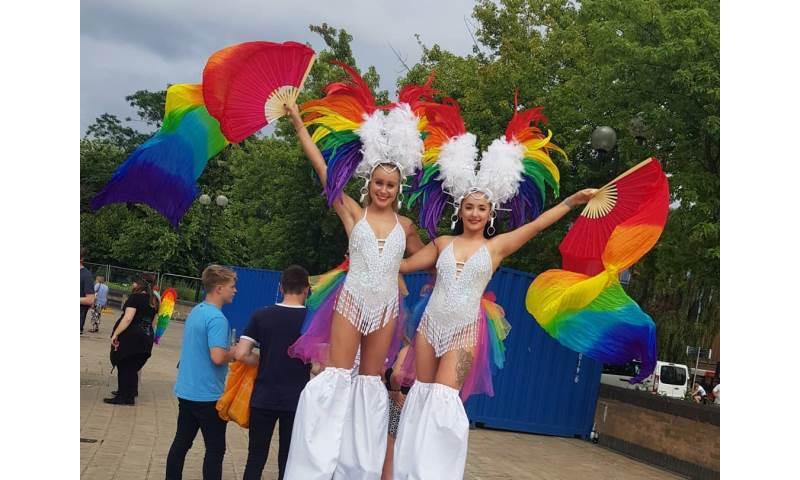 Rainbow Stiltwalkers