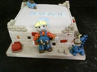 The ever popular Bob the builder Birthday cake