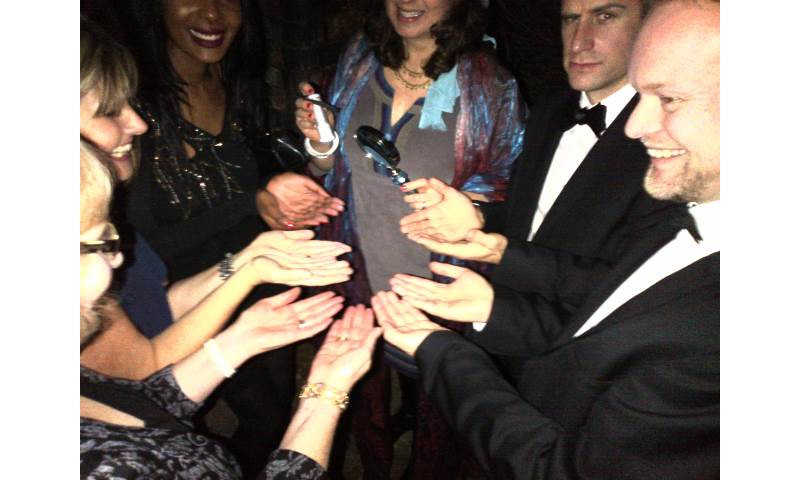 Group Palm Readings at Corporate Events