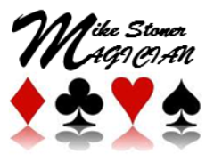 Mike Stoner - Magician and Mind Reader Logo