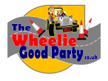 The Wheelie Good Party Company Logo