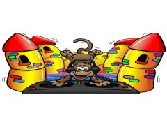 Little Rascals Bouncy Castles Logo