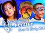 Follies Face & Body Art Logo