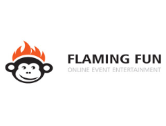Flaming Fun Entertainments Logo