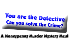 Moneypenny Murder Mystery Productions Logo