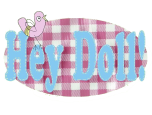 Hey Doll! Craft Parties Logo