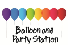 Balloon & Party Station Logo