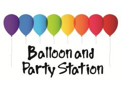 Balloon & Party Station Logo