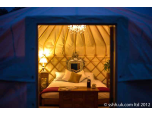 sshh... luxury yurt hire Logo