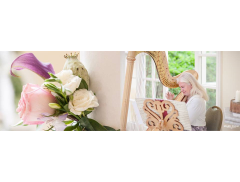 Xenia Wedding Harpist Logo