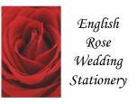 English Rose Wedding Stationery Logo