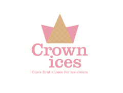 Crown  Ice Cream Logo