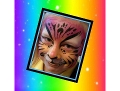 Crazy Faces Face Painting Logo