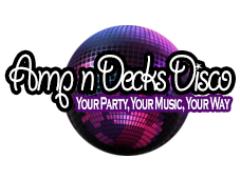 Amp n Decks Disco - Wedding DJ & Events Logo