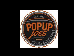 Popup Joe's Coffee Cart Logo