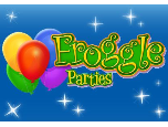 FROGGLE PARTIES LTD Logo