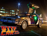 BTTF Car Delorean Time Machine Hire Logo