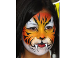 Lapis Lizard Face Painting and Body Art Logo