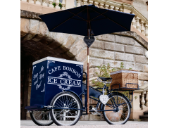 Cafe Bon Bon Ice Cream Tricycles Logo