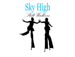 Sky High Stilt Walkers Logo