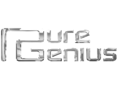 Pure Genius - Party Band Logo