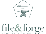 File and Forge Jewellery School Logo