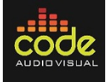 Code Audio Visual Limited Logo