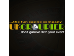 UK Croupier Fun Casino Logo