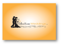 DJ VALENTINE WEDDINGS Logo