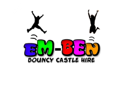 Em-Ben Bouncy Castle and Sumo Hire (Ice Cream Kiosk/van) Logo