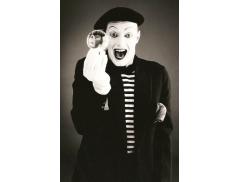 Andy Sinclair Mime Artist Logo