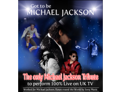 Michael Jackson Tribute - Got to Be Michael Jackson Logo