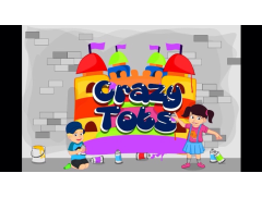 Crazy Tots - Bouncy Castle & Soft Play Hire Logo