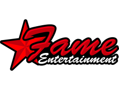 FAME ENTERTAINMENT BOUNCY CASTLE HIRE Logo