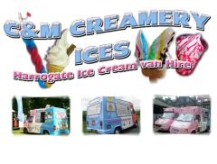 C&M Creamery Ices Logo