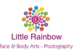 Little Rainbow Face Painting & Body Arts Logo