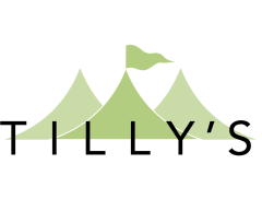 Tilly's Garden Party Hire Logo