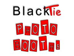 Black Tie Photo Booths Logo