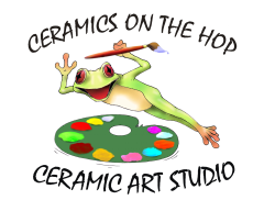 Ceramics on the Hop Logo