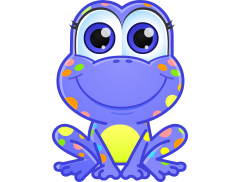 Spotty Frogs Soft Play Hire Logo