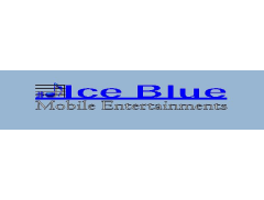 Ice Blue Mobile Entertainments Logo