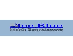Ice Blue Mobile Entertainments Logo