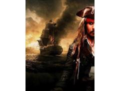 Captain Jack Sparrow Lookalike Logo